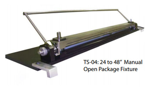 TS-02 Open Package Test Fixtures